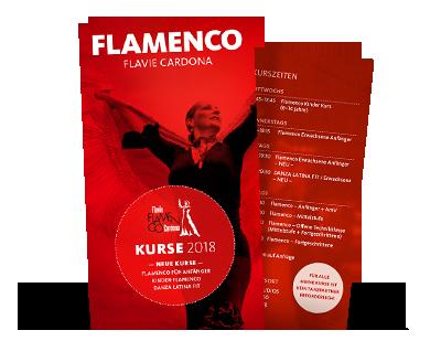 Flamenco Flavie Cardona - Flyer 2018